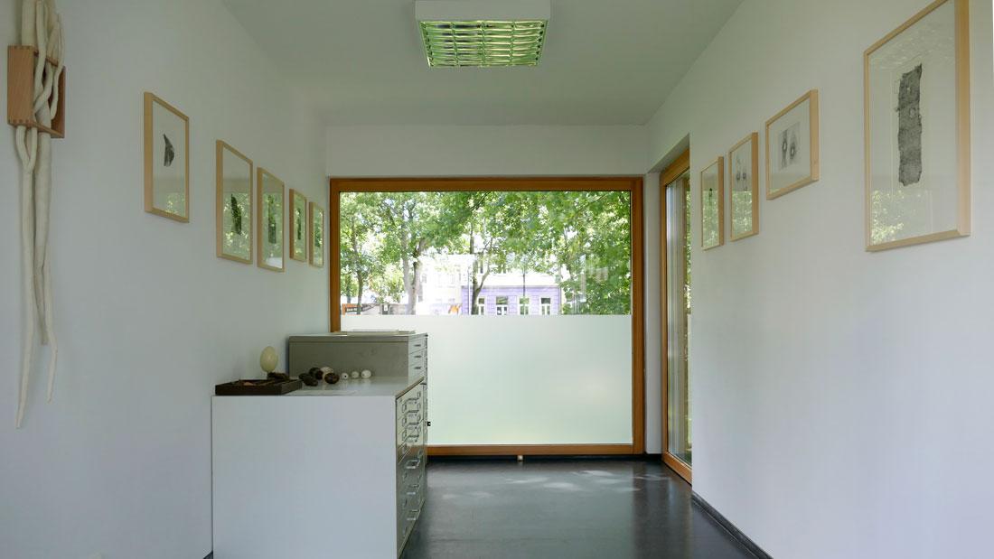 Abschlussarbeit HS Niederrhein: Mini-Ausstellung im Container